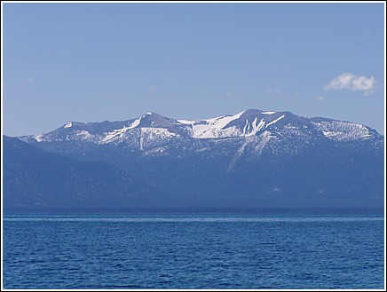 Mountains around Tahoe