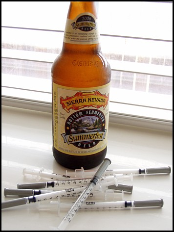Beer and Syringes
