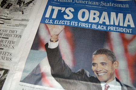 Austin American-Statesman - Obama Victory