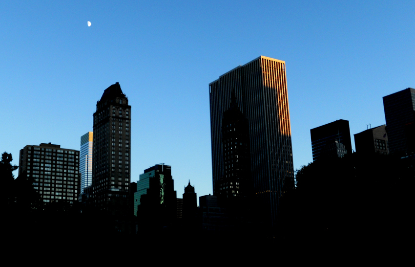 Moon over Midtown